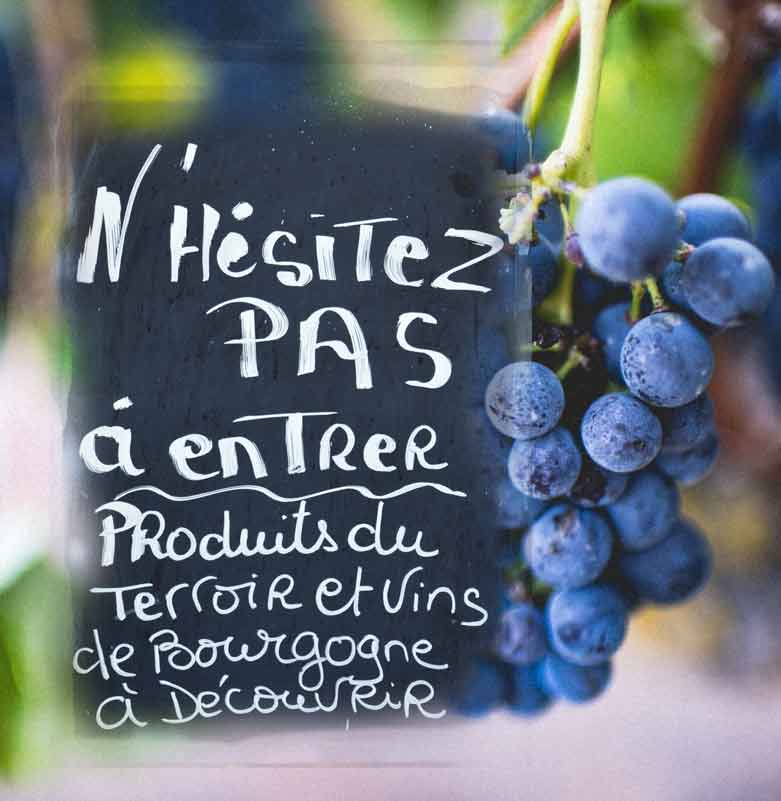 Lien vers le site web de La Bourgogne en toute simplicité.