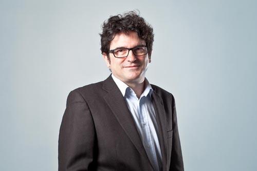 Portrait de Thierry Moizan, dirigeant de l'agence auViWEB une agence sénonaise à taille humaine.
