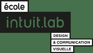 Logo intuit.lab est une école de design.